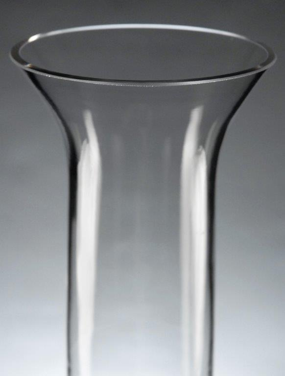 Tall Clear Gl Vases Vase And Cellar Image Avorcor